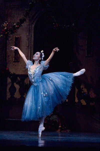 Ballet: Coppelia  ||  Dancer(s): Nao Kusuzaki  ||  Photo: Jim Caldwell  ||  Image provided courtesy of Houston Ballet