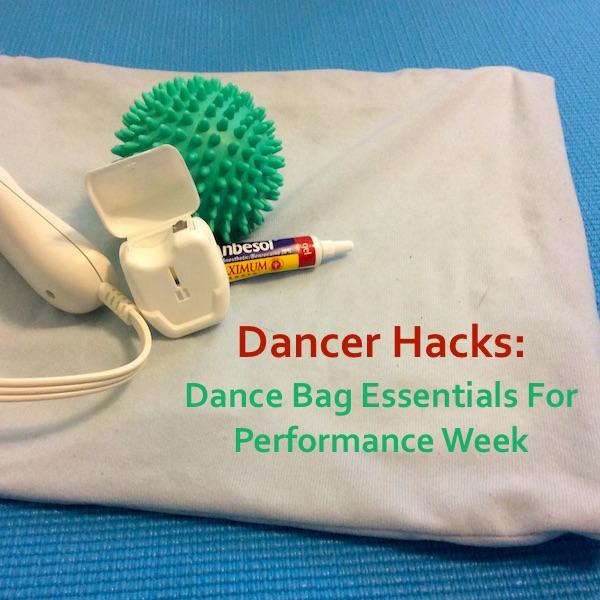 4 Dancer Hacks for Performances or Summer Training