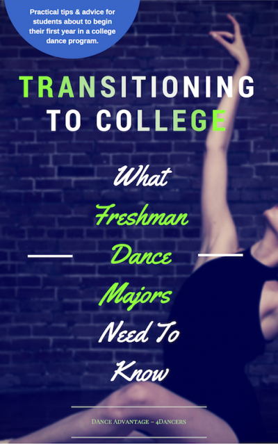 What Freshman Dance Majors Need To Know