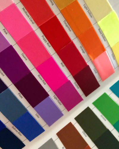 BDancewear Color Swatches