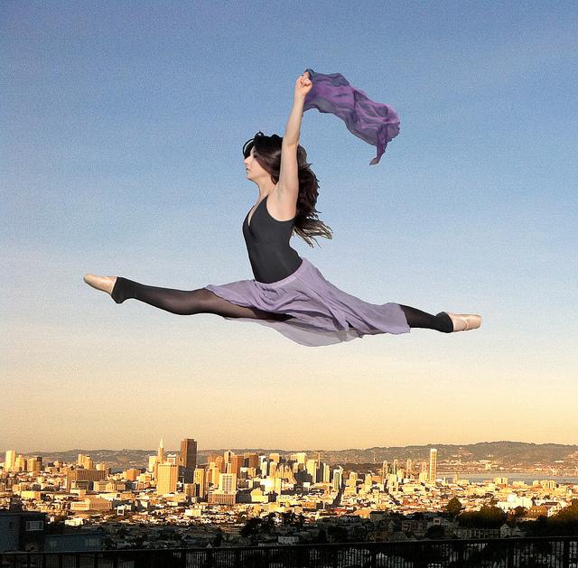 """flying high over san francisco"" by torbakhopper. Licensed under CC Attribution 2.0 Generic."