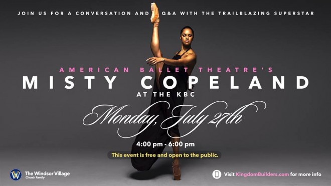 Conversation with Misty Copeland in Houston