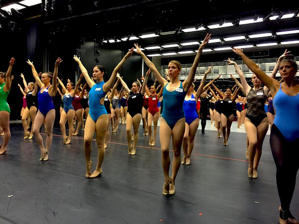 Rockettes audition