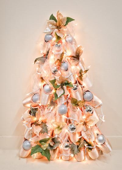 Pointe shoe christmas tree