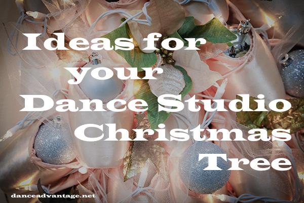 Christmas Tree Ideas For Your Dance Studio