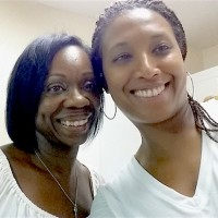 Desiree and her mentor, Kim Grier