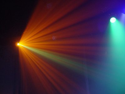 """Stage Lights"" by Fuzzy Gerdes is licensed CC BY 2.0"