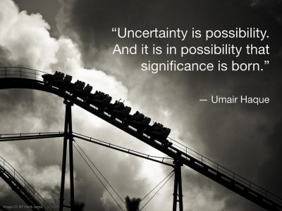 Uncertainty is possibility