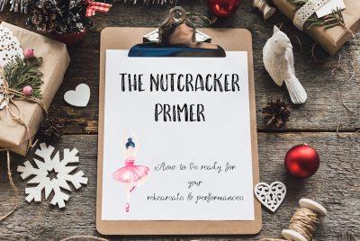 "An Organizational Primer For Dancers In ""The Nutcracker"""