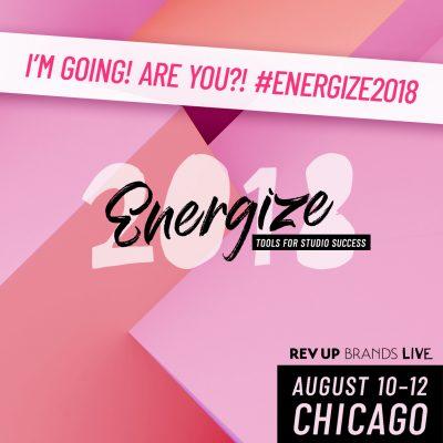 Energize, Aug. 10-2, 2018 #Energize2018