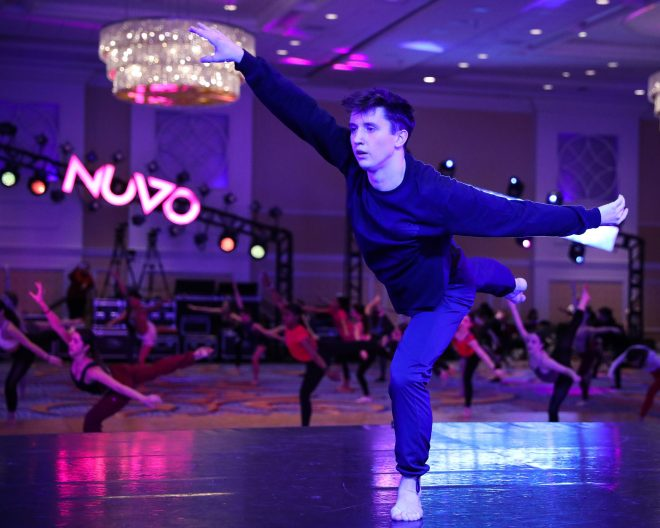 Kieran Macdonald. Photo courtesy of NUVO Dance Convention.